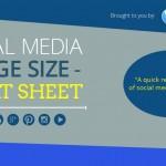 Screenshot of Social Media Cheat Sheet