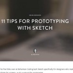 Screenshot of 11 Tips for Prototyping with Sketch blogpost