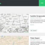 Screenshot of Snazzy Maps website