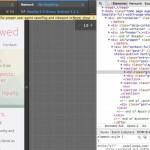 Screen Shot of Chrome Mobile Emulator