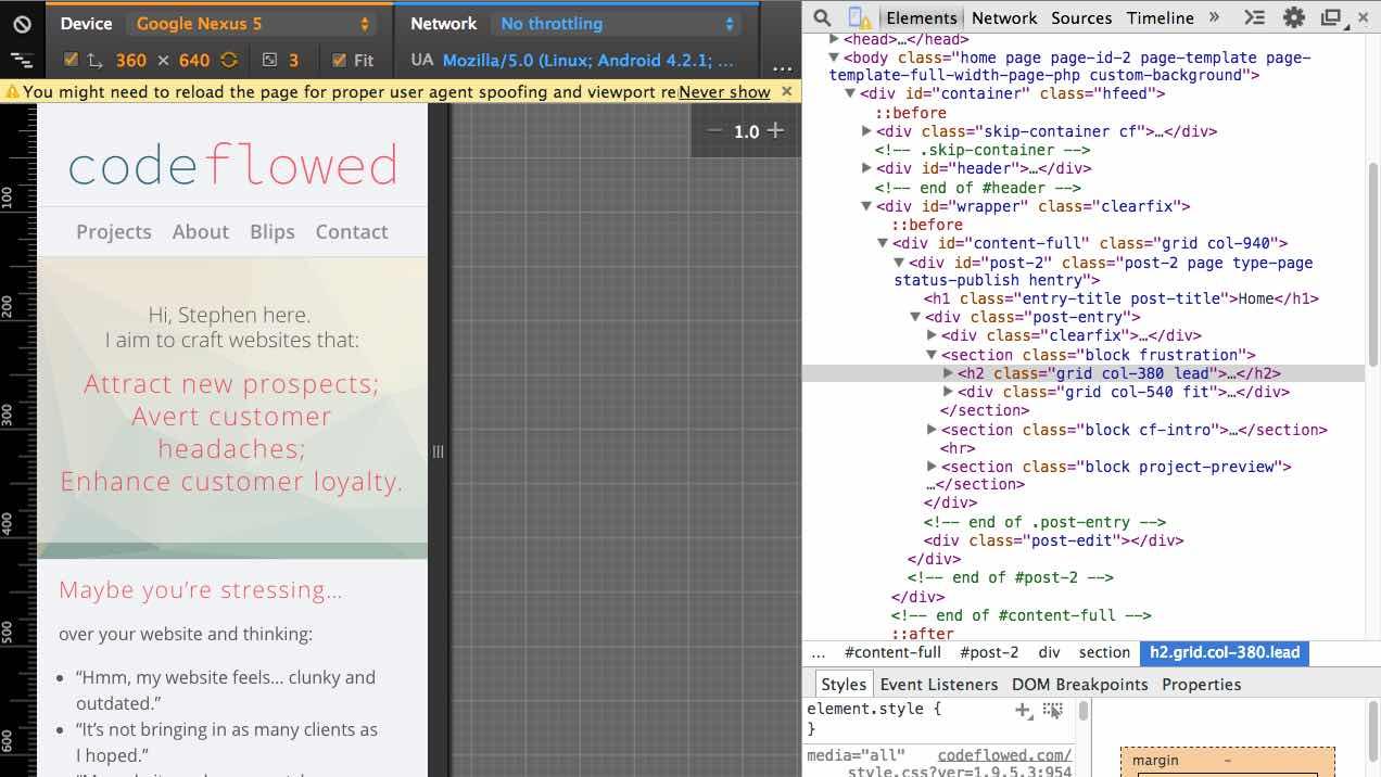 7 New Chrome DevTool Features