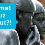 Statues talking about Emmet
