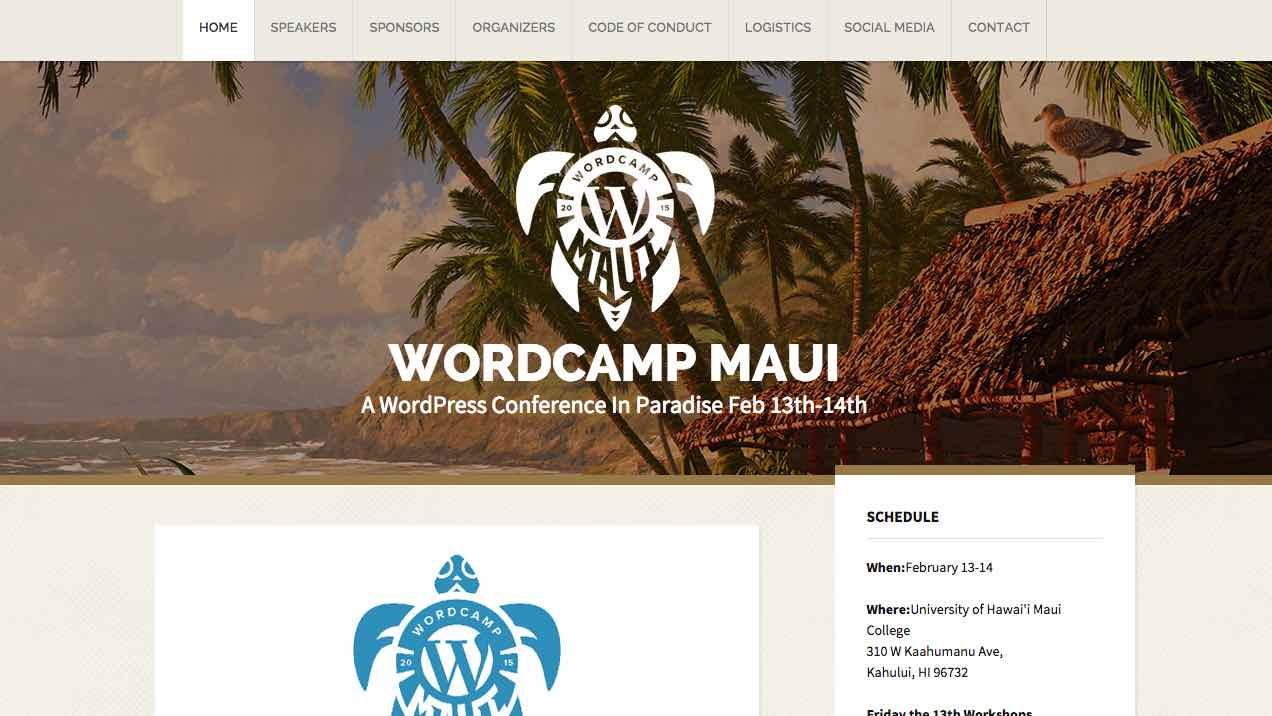WordCamp Is Coming to Maui