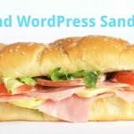 Git and WordPress Sandwich