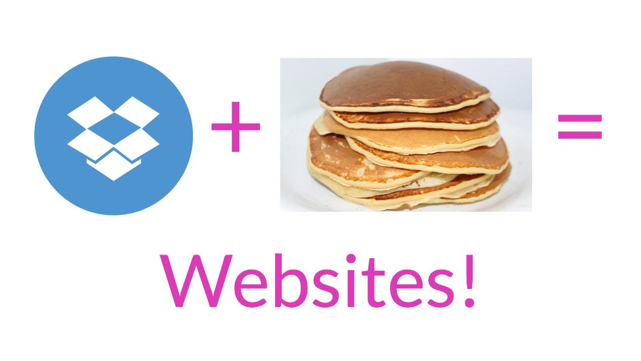 Host a Website on Dropbox with Pancake.io