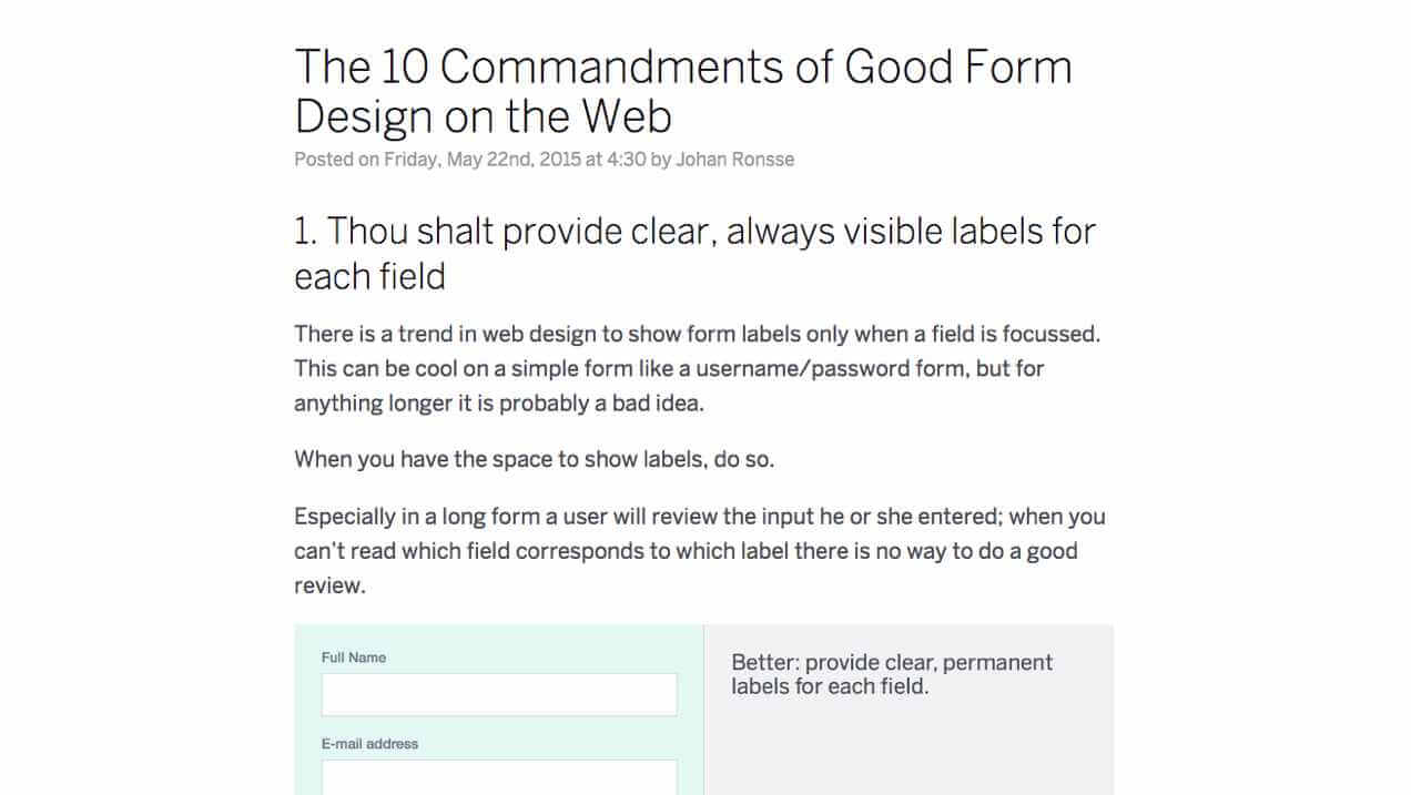 Designing Solid Forms